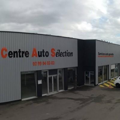 Centre Auto Sélection - Noyal-sur-Vilaine - Le garage