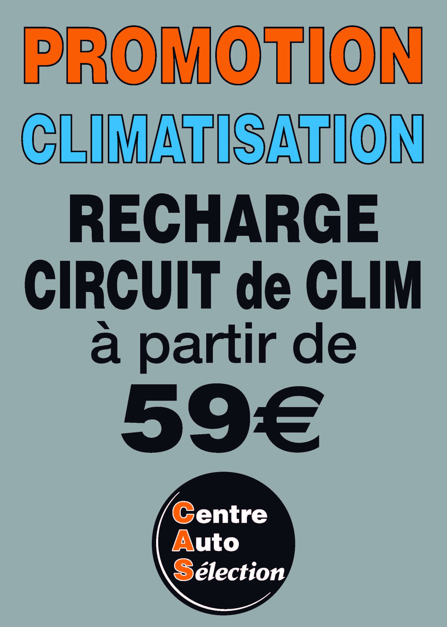 Promotion CLIMATISATION